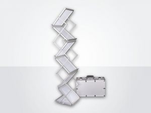 Acryl-brosjyrestativ-magasinholder
