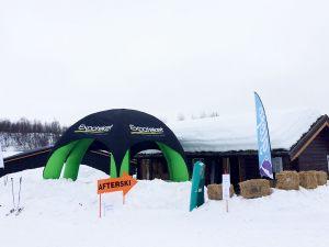 Igloo-oppblåsbart-robust-telt