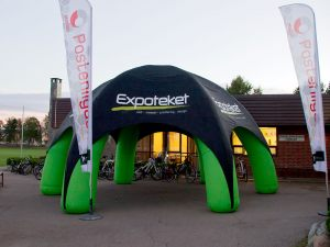 Igloo-oppblåsbart-telt