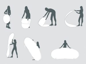 Montering-abanner-selvstående-tosidig